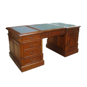 Mahogany Partner Desk
