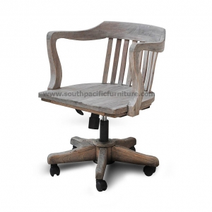 Rustic Office Chair Hydraulic