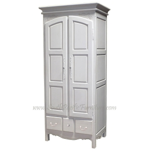 Shabby Chic French Armoire 90