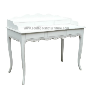 Painted shabby chic french desk South pacific furniture