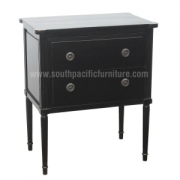 Black Shabby chic commode 2D