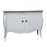 Louis XV plain shabby chic Buffet 2 d
