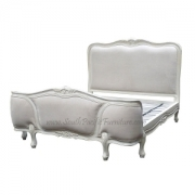 Shabby chic Corbeille Bed UPH King