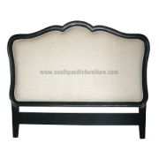 Black Chic Headboard Uph Queen