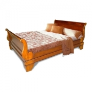 Sleigh Bed High Foot end