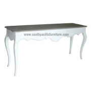 White Shabby chic french console table 3T
