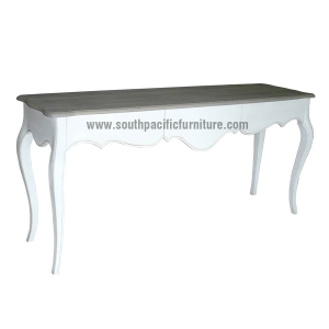 Delicieux White Shabby Chic French Console Table 3T